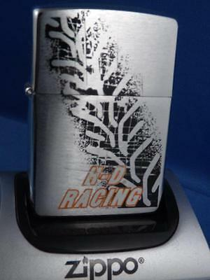 Zippo Lighter Niagara Falls Canada  Harley Davidson Racing Unfired