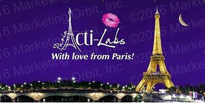 Acti Labs Vinyl Banner NEVER USED Retails $75