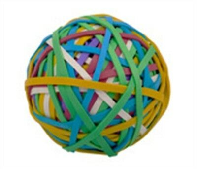 "Alliance Rubber Company 00159 2.5"" Multi-Colored Rubber Band Ball 250 Count Ball"
