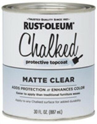 Rustoleum 287722 30 Oz Matte Clear Chalked Protective Topcoat