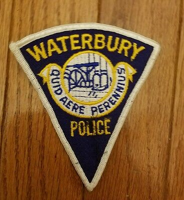 Waterbury, CT police patch