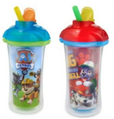 Munchkin 15963 9 Oz Paw Patrol™ Click Lock™ Insulated Straw Cup Assorted Colors/