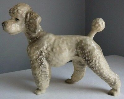 Vintage Poodle Dog Figurine Made in Japan