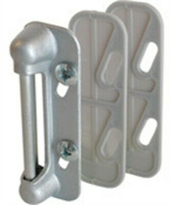 "Prime Line K5003 2.63"" X .875"" Aluminum Swinging Screen Door Latch Bar-Strike"