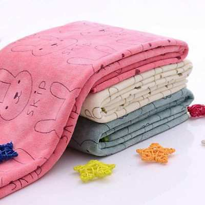 50*20CM Infant Baby Kid Soft Washcloth Bath Towel Bath Beach Feeding Wipe Cloth