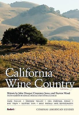Compass American Guides: California Wine Country-ExLibrary