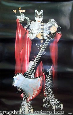 Kiss 22x34 Gene Simmons Dynasty Solo Poster