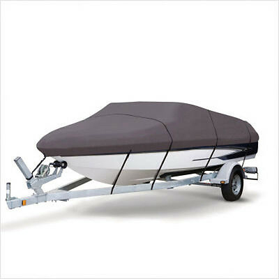 Premium Heavy Duty 210D 14-16ft Marine Grade Trailerable Boat Cover Waterproof