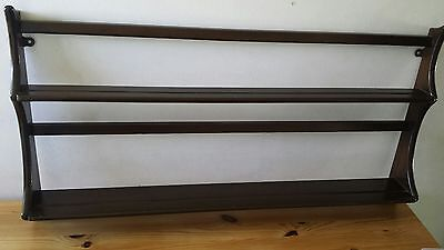Ercol plate rack display unit