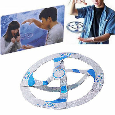 Cool Mystery illusion Magic Trick UFO Amazing Floating Flying Disk Toy Kid