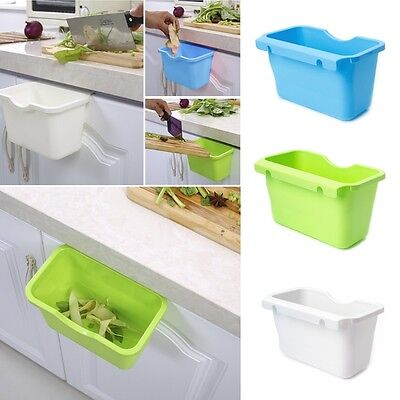 Kitchen Cabinet Door Hanging Trash Garbage Bin Can Rubbish Container