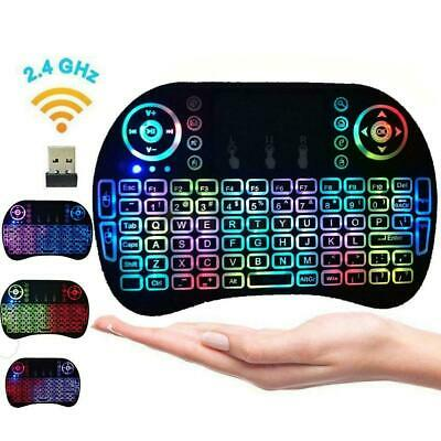 2.4G Mini Wireless Keyboard Remote Controls Touchpad for Android TV Box PC HTPC