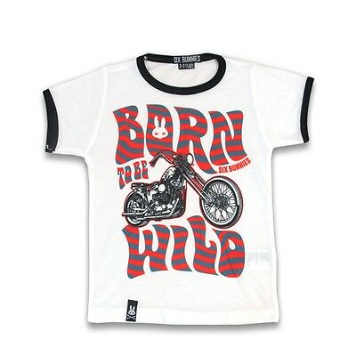 T-Shirt Bambino Born To Be Wild