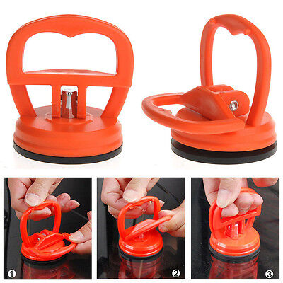 Removal Car SUV Suction Cup Pad Tool Dent Puller Bodywork Panel Remover Orange