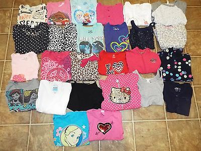 56 pieces Girls size 5/6 lot tops shorts dresses pants skirts
