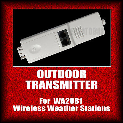 OUTDOOR TRANSMITTER/SENSOR | Part for WA2081 Wireless Weather Station.Solar A14B