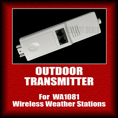 OUTDOOR TRANSMITTER/SENSOR | Part for WA1081 Wireless Weather Station. Solar A7B