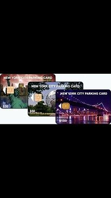 NYC Parking Card $100 Value