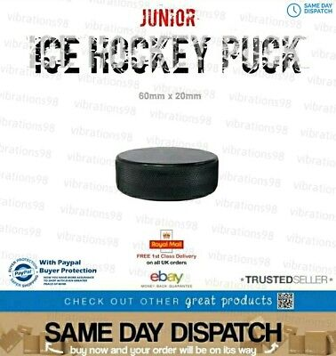 Junior Ice Hockey Puck + FREE 1st Class Delivery/Same day dispatch