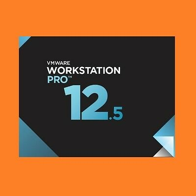 VMware Workstation 12.5.1 Pro LINUX (2017) |1PC| VOLLVERSION | NEU | Rechnung