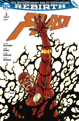 Flash 3 (Rebirth) - Deutsch - Panini - Comic - NEUWARE