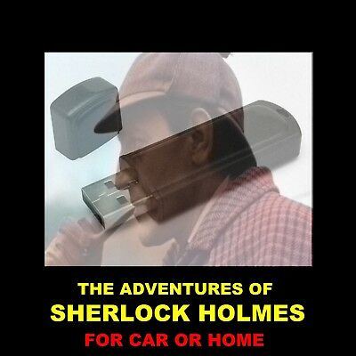 Sherlock Holmes. Enjoy 374 Old-Time Radio Shows In Your Car Or Home. (New Shows)