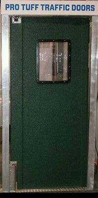"36"" X 84"" Door Restaurant Kitchen Door. Double Swing Door Custom Colors."