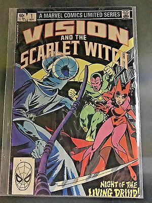 Vision and the Scarlet Witch SET OF 4 Marvel Comics
