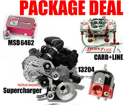 Torqstorm Supercharger System Small Block Ford 302 351W Arp-K-Fd302 Combo Kit