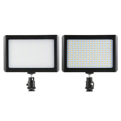 Dimmable 192 LED Video Photo Lamp Light Panel para Canon DSLR Camera Camcorder