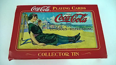 Coca-Cola Playing Cards In Collector Tin