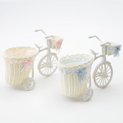 Wicker Bike For Baby Shower Hamper Boy/Girl Gift Christening
