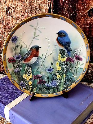 Lenox  Nature's Collage Plate Collection Summer Interlude by Catherine McClung