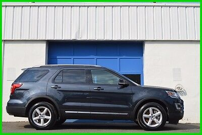 2017 Ford Explorer XLT Repairable Rebuildable Salvage Lot Drives Great Project Builder Fixer Easy Fix