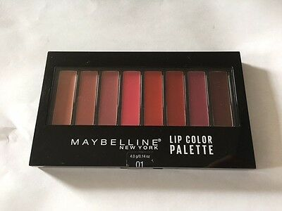 Maybelline Lip Color Palette, 01!
