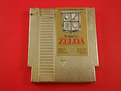 Legend of Zelda [Game Only] (Nintendo NES) Cleaned, Tested & Working