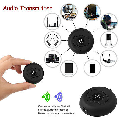 Wireless Bluetooth 4.0 Audio FM Transmitter Adapter for TV PC MP3  MP4 Player