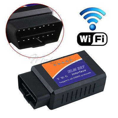 ELM327 Bluetooth OBD2 OBDII Car Diagnostic WiFi Scanner Code Reader Tool for IOS