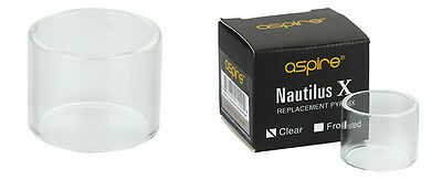 2pcs Original Aspire Pyrex Glass 2ml for Nautilus X or 1pc 4ml adapter kit