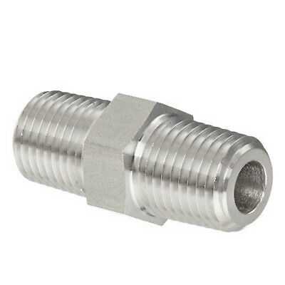 "HFS 1/4In Npt X 1/4"" Npt Male Flare - Stainless Steel"