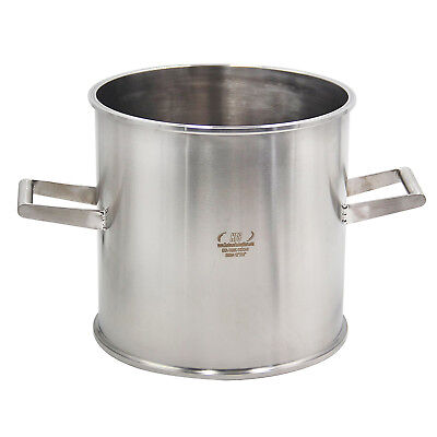 """HFS(R) 12"""" X 12"""" Sanitary Tank - Tri Clamp Clover Stainless Steel With Handles"""