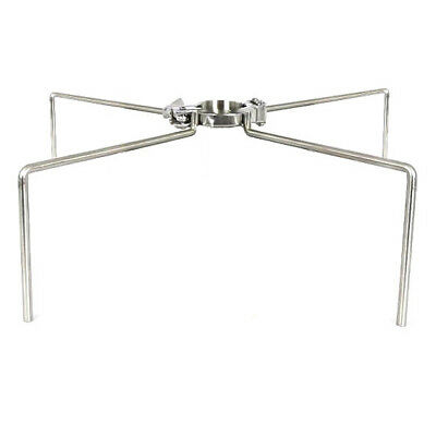 """HFS 2"""" Tri Clamp Clover Stand - Stainless Steel 304"""