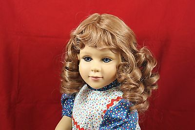 Going Out Of Business Sale------ Auburn Wig Modeled On A My Twinn Doll Bsw949