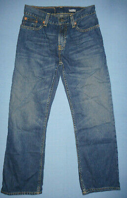 Ralph Lauren W24 L25 Childrens Boys Blue Denim Jeans Straight Cut Classic
