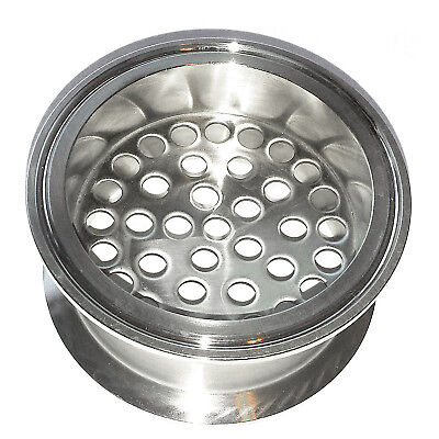 "HFS 3"" Stainless Sanitary Filter Plate Fits Tri-Clamp Ferrule Flange"