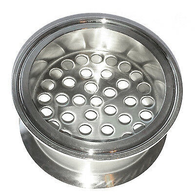 """HFS(R) 3"""" Stainless Sanitary Filter Plate Fits Tri-Clamp Ferrule Flange"""