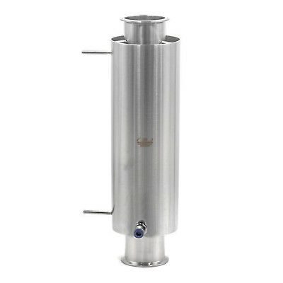 """HFS(R) 3"""" X 18"""" Stainless Sanitary Dewax Chamber Fits Tri-Clamp Ferrule Flange"""