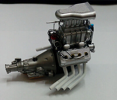 GMP ACME 1/18 Blown Dragster Engine and Transmission A1800907E