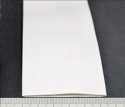 2:1 White Φ80mm Heat Shrink Tubing Sleeving Cable 1KV Electrical Wrap Tube x 1 M