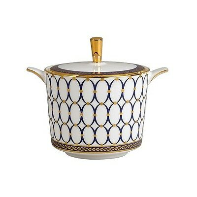 NEW Wedgwood Renaissance Gold Covered Sugar. Special Price!